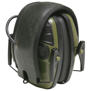 Howard R01526 IMPACT Sport Black Electronic Ear Muff 2AA