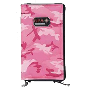 "G*Outdoors 865PSPK Pistol Sleeve Medium 5""x8""x1.5"" Pink"