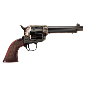 "Taylors & Co The Smoke Wagon .45 Long Colt 6-Shot 3.5"" Revolver in Blued (Deluxe) - 4114DE"