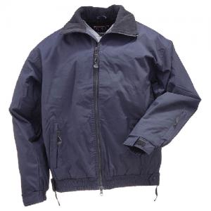 5.11 Tactical Big Horn Men's Full Zip Jacket in Dark Navy - X-Small