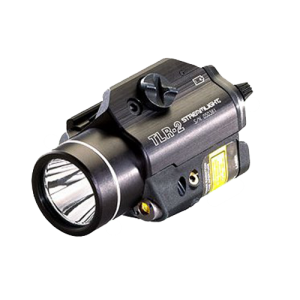Streamlight 69120 TLR-2 Rail Mounted LED Flashlight w/Laser Sight 300 Lm Alum B