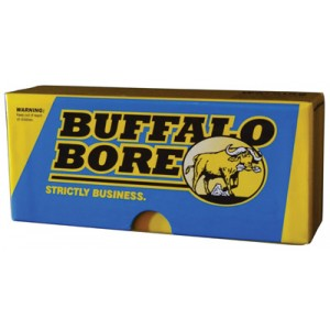 Buffalo Bore Ammunition Magnum Lever Gun .45-70 Government Jacketed Flat Point, 350 Grain (20 Rounds) - 8C