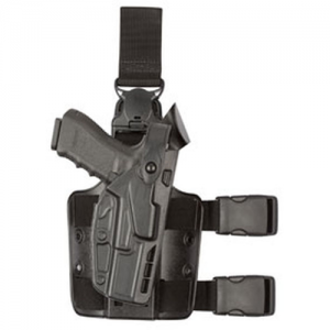 7005 SLS Tactical Holster with Quick Release Finish: STX Plain Gun Fit: Sig Sauer P320 Full Size .45 Acp With M3 Hand: Right - 7005-4512-411