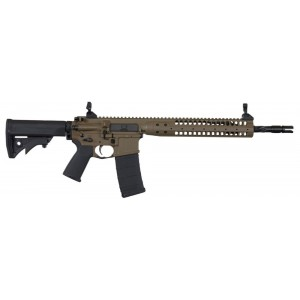 "LWRC IC-SPR .223 Remington/5.56 NATO 30-Round 14.7"" Semi-Automatic Rifle in Patriot Brown - ICR5PBC14PSPR"