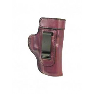 """Don Hume H715m Clip-on Holster, Inside The Pant, Fits Beretta 92/96 With 5"""" Barrel, Left Hand, Brown Leather J168031l - J168031L"""