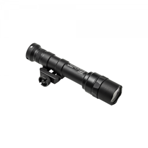 Scout Light, 6V, M75 Thumb Screw Mount, 500 Lumens, Black, Z68 Click On/Off Tailcap