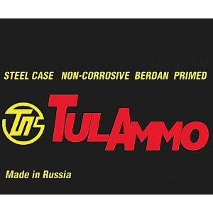 TulAmmo 7.62X39 Full Metal Jacket, 122 Grain (640 Rounds) - TA076203