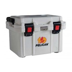 Pelican Progear 20q-mc Elite Cooler, Holds 21.00 Us Quarts (liquid), White Finish 32-20q-mc-wht