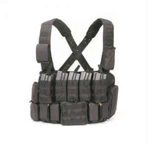 Tactical Chest Rig Color: Black
