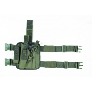 Tactical Drop Leg Holster Color: OD Green Hand: Left Handed - 20-0052004002