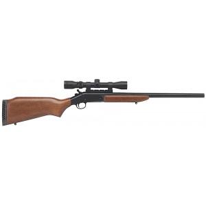 "H&R 1871 Single Shot .223 Remington/5.56 NATO 22"" Single Shot Rifle in Weathershield - SBS223"