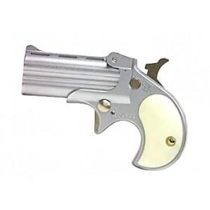 "Cobra Enterprises C22 .22 Long Rifle 2-Shot 2.4"" Derringer in Nickel - C22SP"
