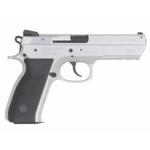 "TriStar T-100 9mm 15+1 3.7"" Pistol in Chrome - 85110"