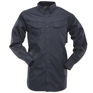 Tru Spec 24-7 Men's Long Sleeve Shirt in Navy - Large