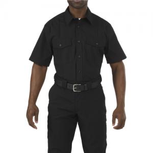 5.11 Tactical PDU Class A Men's Uniform Shirt in Black - Medium