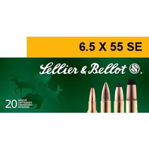 Magtech Ammunition 6.5X55 Swede Soft Point, 140 Grain (20 Rounds) - SB6555B