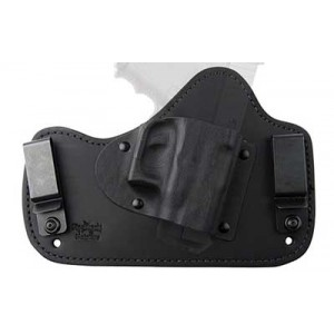 Flashbang Holsters Prohibition Series: Capone Black And Blue Holster, Fits Glock 17/19, Right Hand, Black 9420-g26-10 - 9420-G26-10