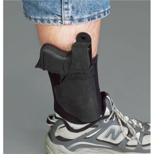 Galco International Ankle Lite Left-Hand Ankle Holster for Taurus PT-709 Slim in Black - AL653B
