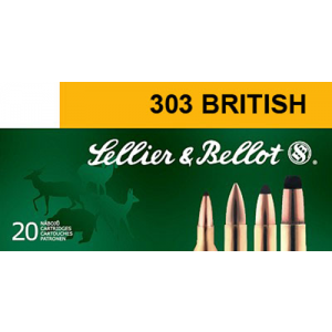 Magtech Ammunition Training .303 British Full Metal Jacket, 180 Grain (20 Rounds) - SB303A