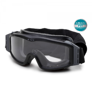 Asian-Fit Profile NVG Black - Goggle includes SpeedSleeve, carrying case, 2.8mm Clear & Smoke Gray lenses. Special fit for Asian faces