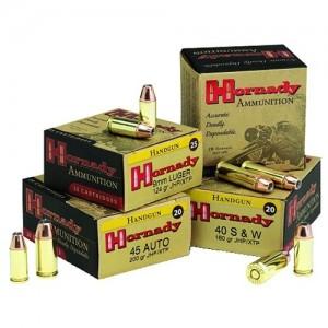 Hornady Custom 10mm Hornady XTP JHP, 155 Grain (20 Rounds) - 9122