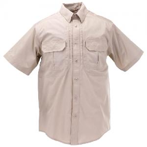 5.11 Tactical Pro Men's Uniform Shirt in TDU Khaki - Large