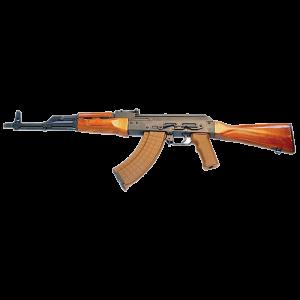 "I. O. Inc. AK-47 Sporter Polish 7.62X39 30-Round 16.25"" Semi-Automatic Rifle in Black - AK47P0001"