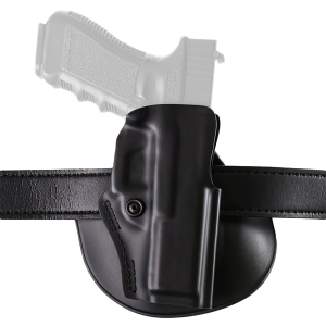 Safariland Model 5198 Right-Hand Paddle Holster for Sig Sauer P226 in Black (W/ Crimson Trace) - 5198477411
