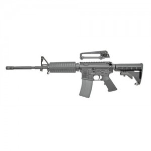 "Olympic Arms K3BM4A3 .223 Remington/5.56 NATO 30-Round 16"" Semi-Automatic Rifle in Black - K3BM4A3"