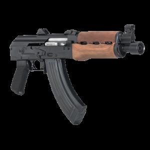 "Century Arms Zastava PAP 7.62x38mm Nagant 30+1 10"" AK Pistol in Black (M92 PV ) - HG3089N"