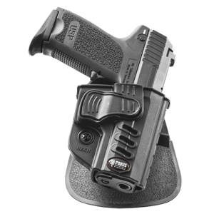 Fobus HKCH Rapid Release Paddle H&K USP Compact and Full-Size 9/40 Plastic Black - HKCH
