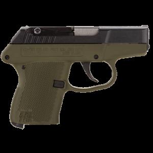 """Kel-Tec P-3AT .380 ACP 6+1 2.75"""" Pistol in Aluminum Alloy - P3ATBGRN"""