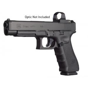 "Glock 34 9mm 10+1 5.32"" Pistol in Gas Nitride (Gen 4 MOS) - PG3430101MOS"