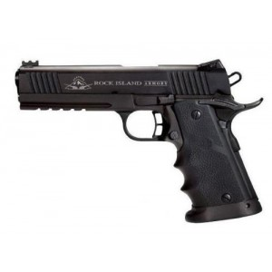 """Rock Island Armory 1911-A1 Tactical 2011 VZ .45 ACP 8+1 5"""" 1911 in Fully Parkerized Frame & Slide - 51567"""