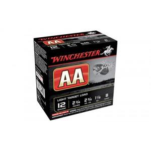 "Winchester AA Tracker .12 Gauge (2.75"") 8 Shot (25-Rounds) - AA128TB"