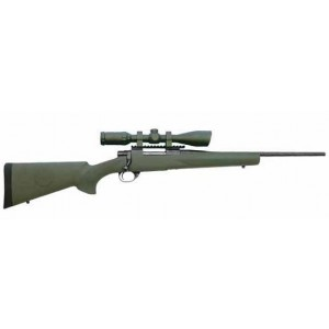 """HOWA/Legacy Ranchland Compact Package .22-250 Remington 5-Round 20"""" Bolt Action Rifle in Blued - HGR36408G"""