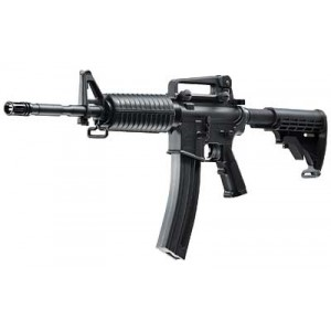 """Walther USA M4 .22 Long Rifle 30-Round 16.2"""" Semi-Automatic Rifle in Black - 5760300"""