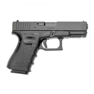 "Glock 19 9mm 10+1 4.02"" Pistol in Matte Black (Gen 3) - PI1950201"
