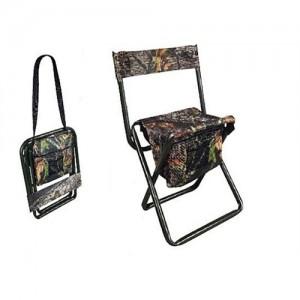 Allen Folding Stool w/Back & Carry Strap 5810