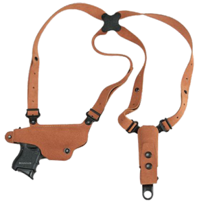 Galco International Classic Lite Right-Hand Shoulder Holster for Glock 17, 19, 22, 23, 26, 27, 31, 32, 33, 36 in Natural (Adjustable) - CL224