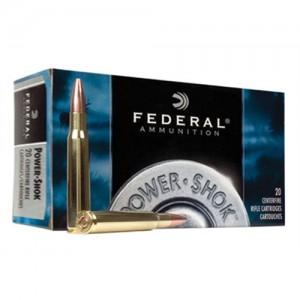 Federal Cartridge Power-Shok Medium Game 7mm Winchester Short Magnum Soft Point, 150 Grain (20 Rounds) - 7WSME