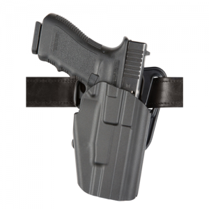 "Safariland 577 GLS Pro-Fit Right-Hand Belt Holster for FN Herstal FNS 40 in STX Plain Black (4"") - 577-283-411"
