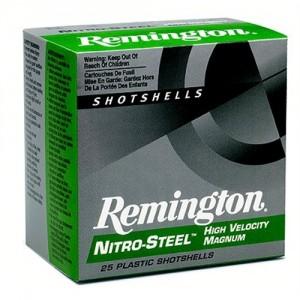"Remington Nitro Steel Shotshells .12 Gauge (3.5"") 2 Shot Steel (25-Rounds) - NS12352"