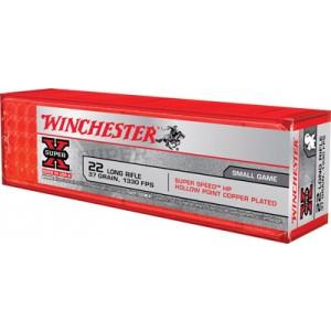 Winchester Super-X .22 Long Rifle Hollow Point, 37 Grain (100 Rounds) - X22LRHSS1