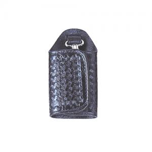 Stallion Leather  Jailers Silent Key Keeper in Black - JSKK-2