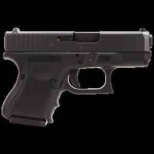 """Glock 26 9mm 10+1 3.46"""" Pistol in Polymer (Gen 4) - PG2650201"""