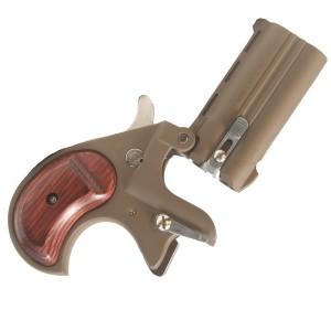 "Cobra Enterprises Derringer .38 Special 2-Shot 2.75"" Derringer in Tan - CB38TKR"