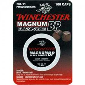 Winchester #11 Magnum Percussion Caps 100 Count Box SML11