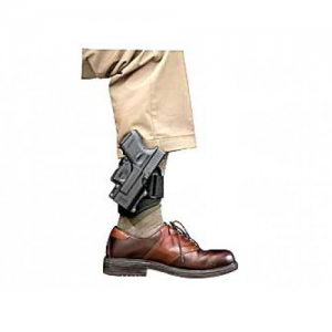 Fobus USA Ankle Right-Hand Ankle Holster for Glock 43 in Black Polymer - GL43NDA