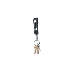"Gould & Goodrich 2.25"" Key Strap in Black - B122"